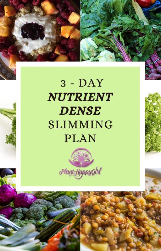 3 - day slimming plan