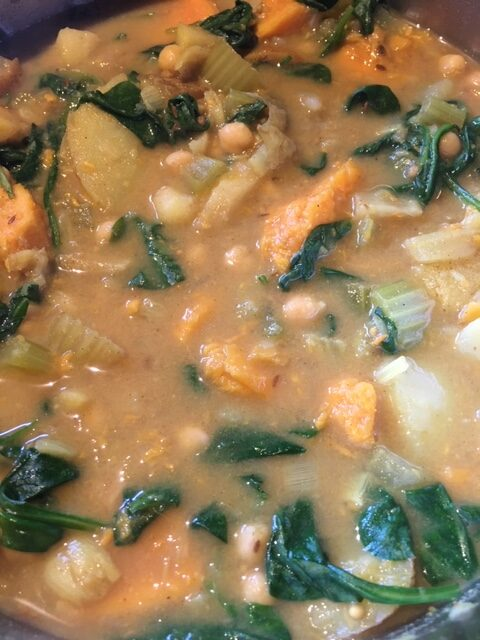 Twisted Chickpea Stew